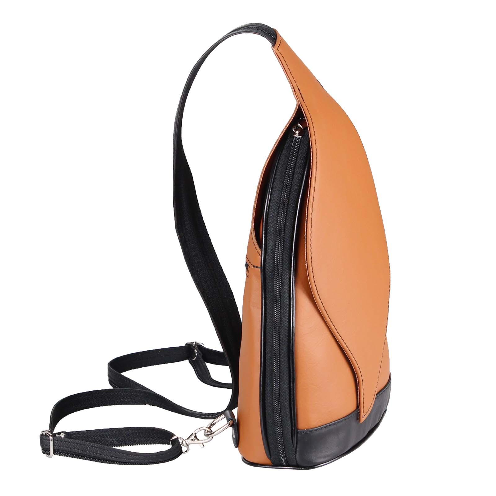 ITALY-DAMEN-LEDER-RUCKSACK-Schulter-Tasche-Reise-BACKPACK-Lederrucksack-it-BAG Indexbild 44