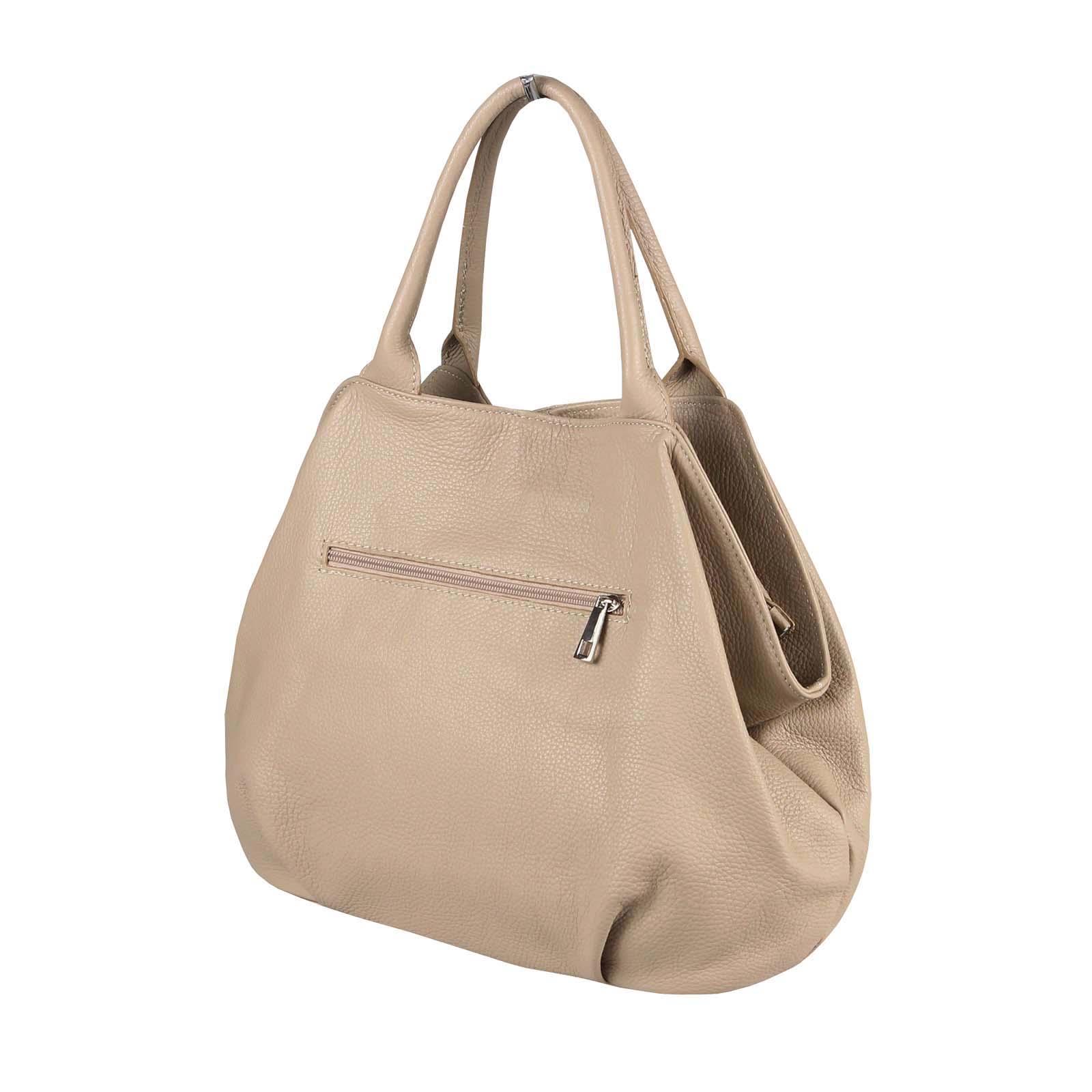 ITALY-LEDER-SHOPPER-Umhaengetasche-Schulter-Hand-Tasche-Damentasche-Ledertasche Indexbild 15