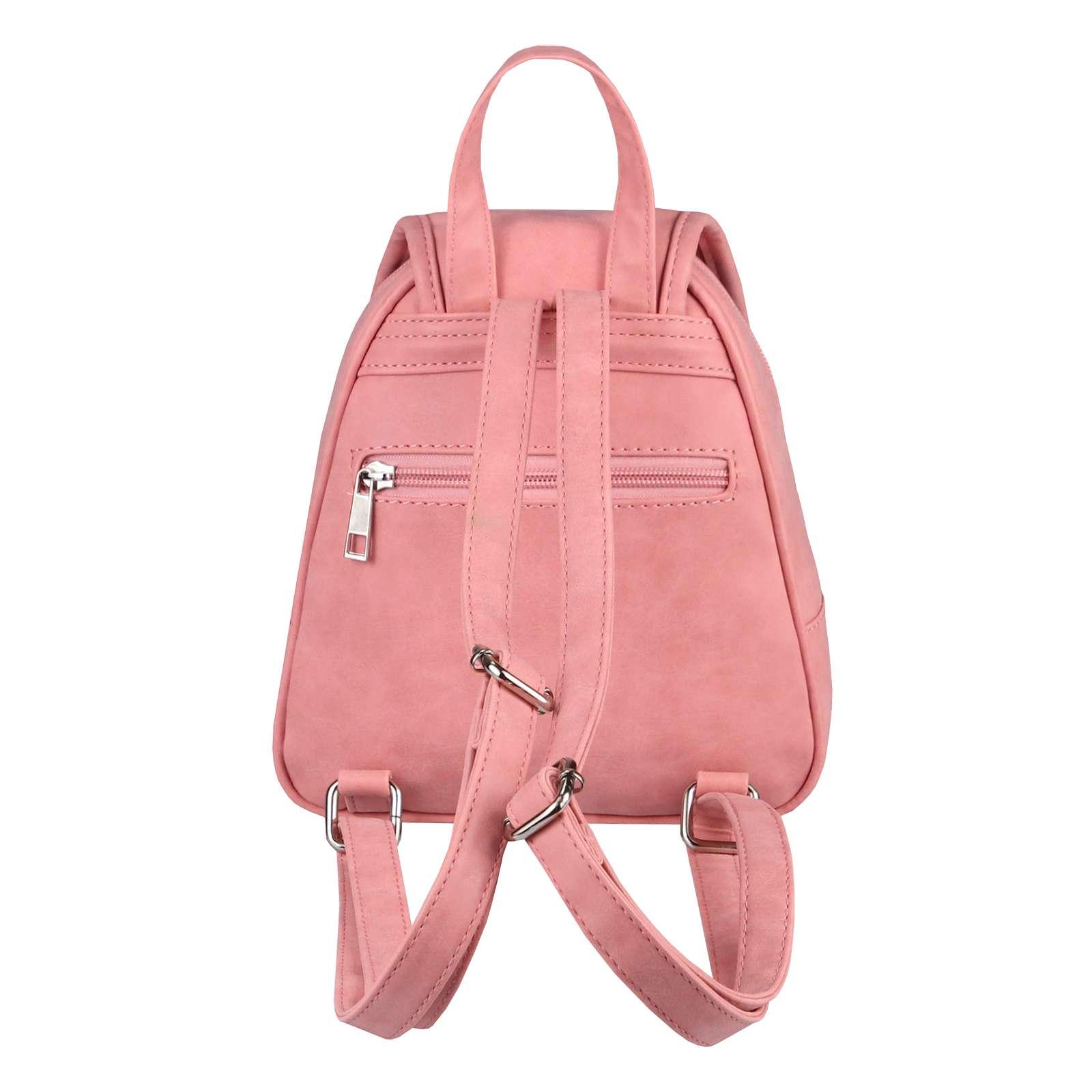 dc22c1a230fab DAMEN ECHT LEDER Rucksack Daypack BAG Hand-Tasche Schultertasche ...