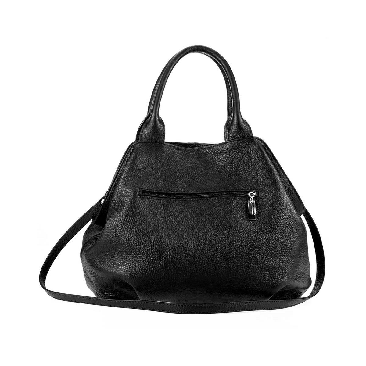ITALY-LEDER-SHOPPER-Umhaengetasche-Schulter-Hand-Tasche-Damentasche-Ledertasche Indexbild 25