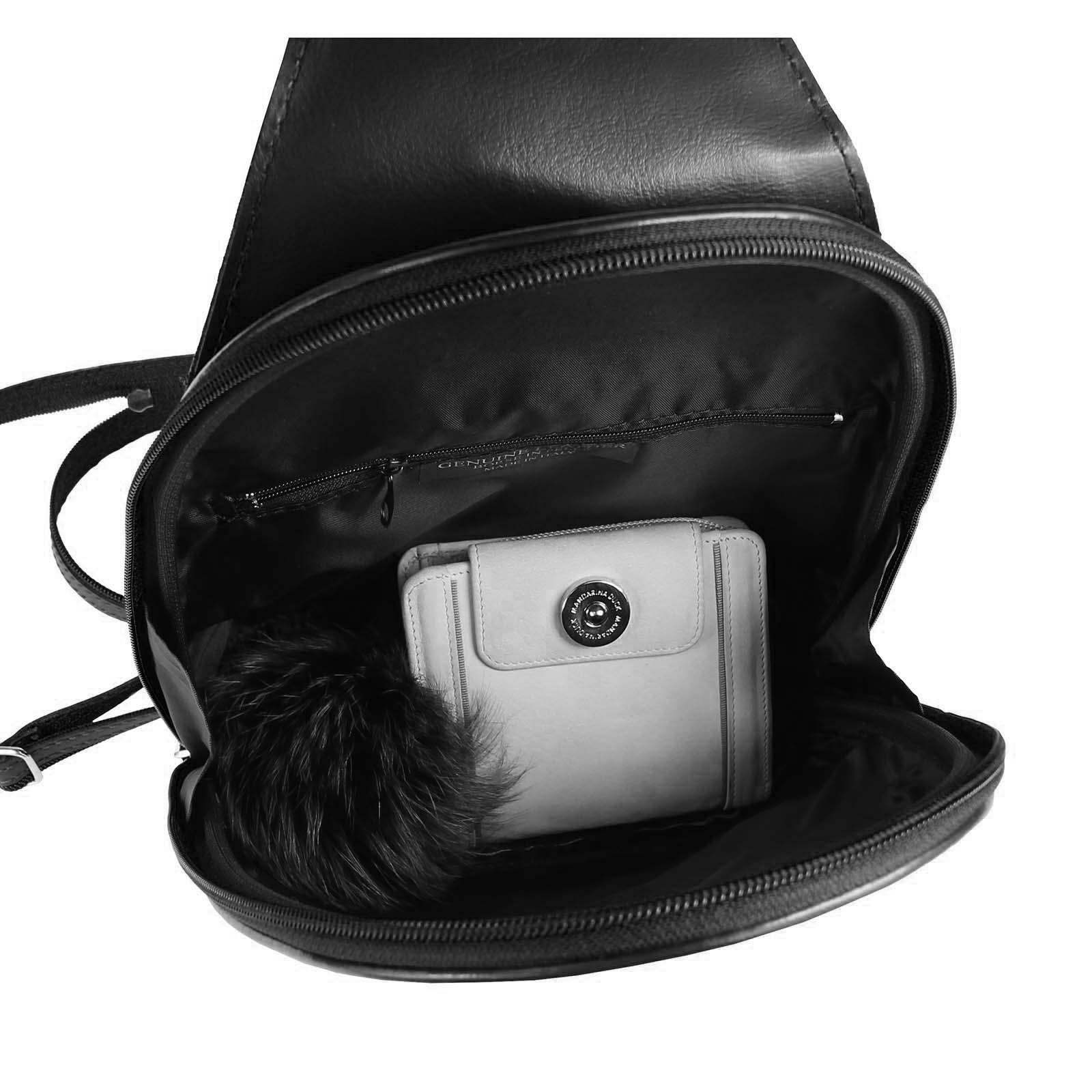 ITALY-DAMEN-LEDER-RUCKSACK-Schulter-Tasche-Reise-BACKPACK-Lederrucksack-it-BAG Indexbild 18