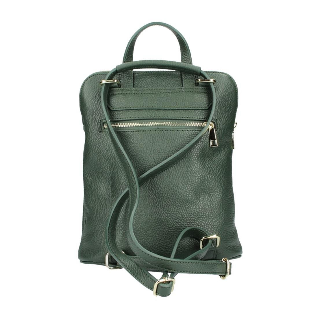 ITALy-DAMEN-LEDER-Reise-RUCKSACK-SchulterTasche-Shopper-Backpack-Ledertasche-BAG Indexbild 83