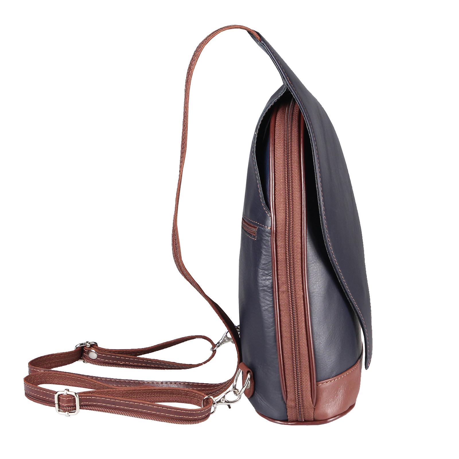 ITALY-DAMEN-LEDER-RUCKSACK-Schulter-Tasche-Reise-BACKPACK-Lederrucksack-it-BAG Indexbild 93