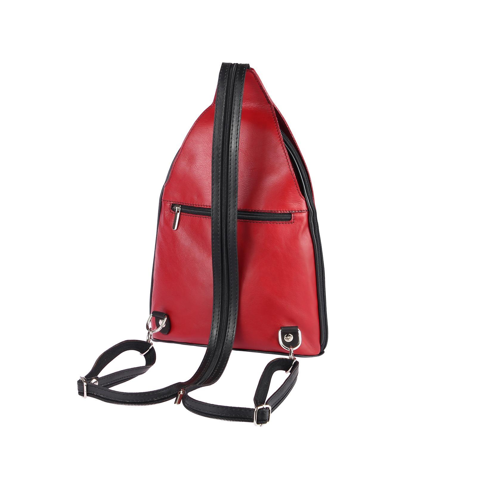 ITALY-DAMEN-LEDER-RUCKSACK-Schulter-Tasche-Reise-BACKPACK-Lederrucksack-it-BAG Indexbild 34