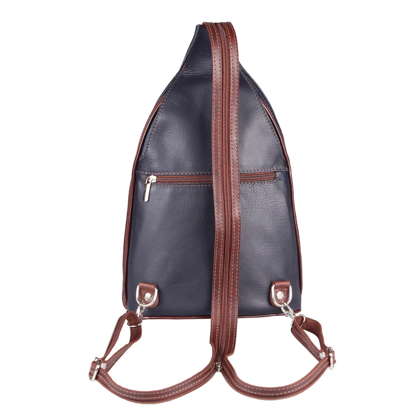 ITALY-DAMEN-LEDER-RUCKSACK-Schulter-Tasche-Reise-BACKPACK-Lederrucksack-it-BAG Indexbild 94