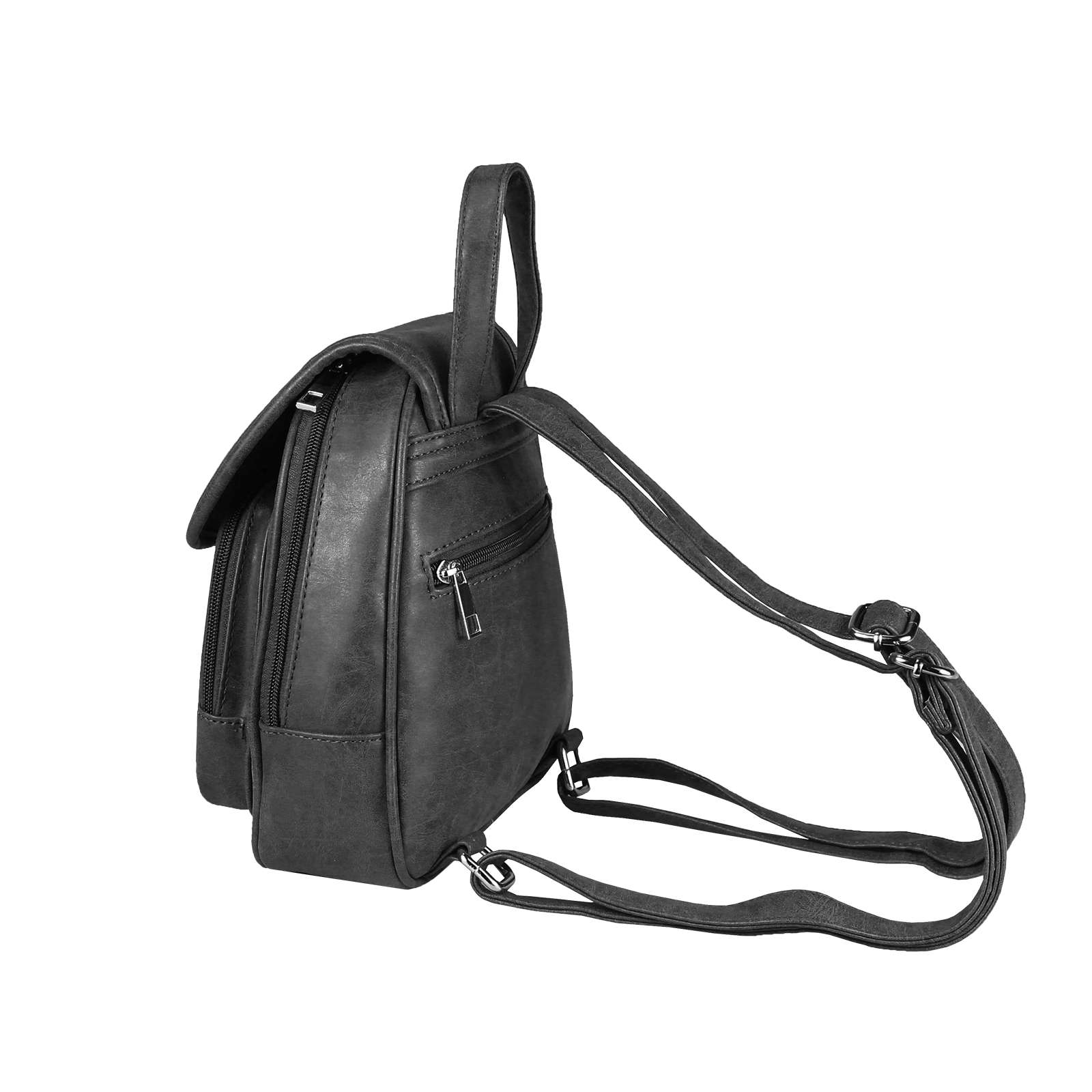 b95fac829313f DAMEN ECHT LEDER Rucksack Daypack BAG Hand-Tasche Schultertasche ...