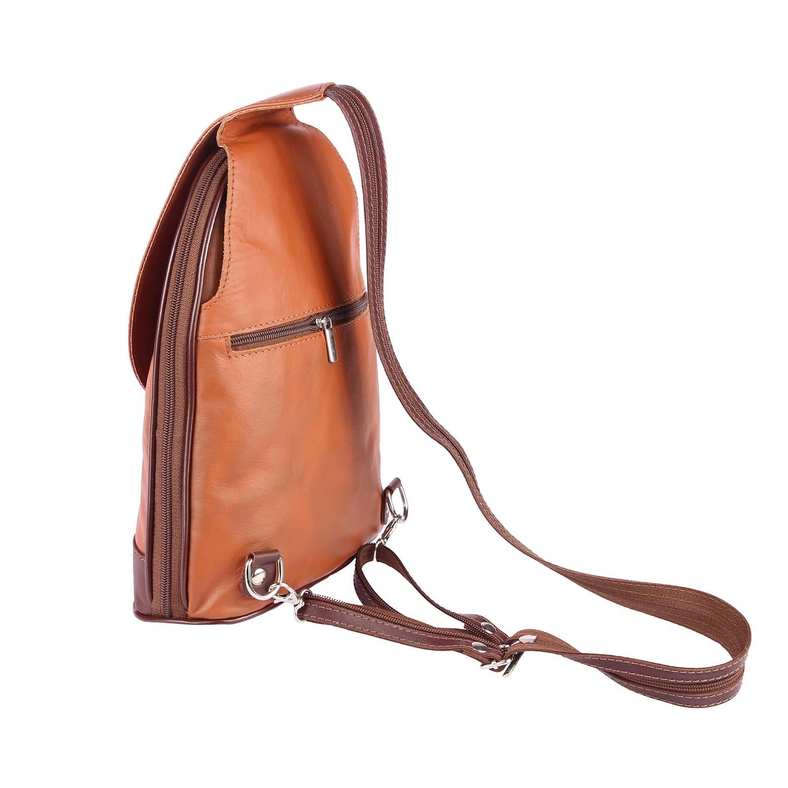 ITALY-DAMEN-LEDER-RUCKSACK-Schulter-Tasche-Reise-BACKPACK-Lederrucksack-it-BAG Indexbild 30