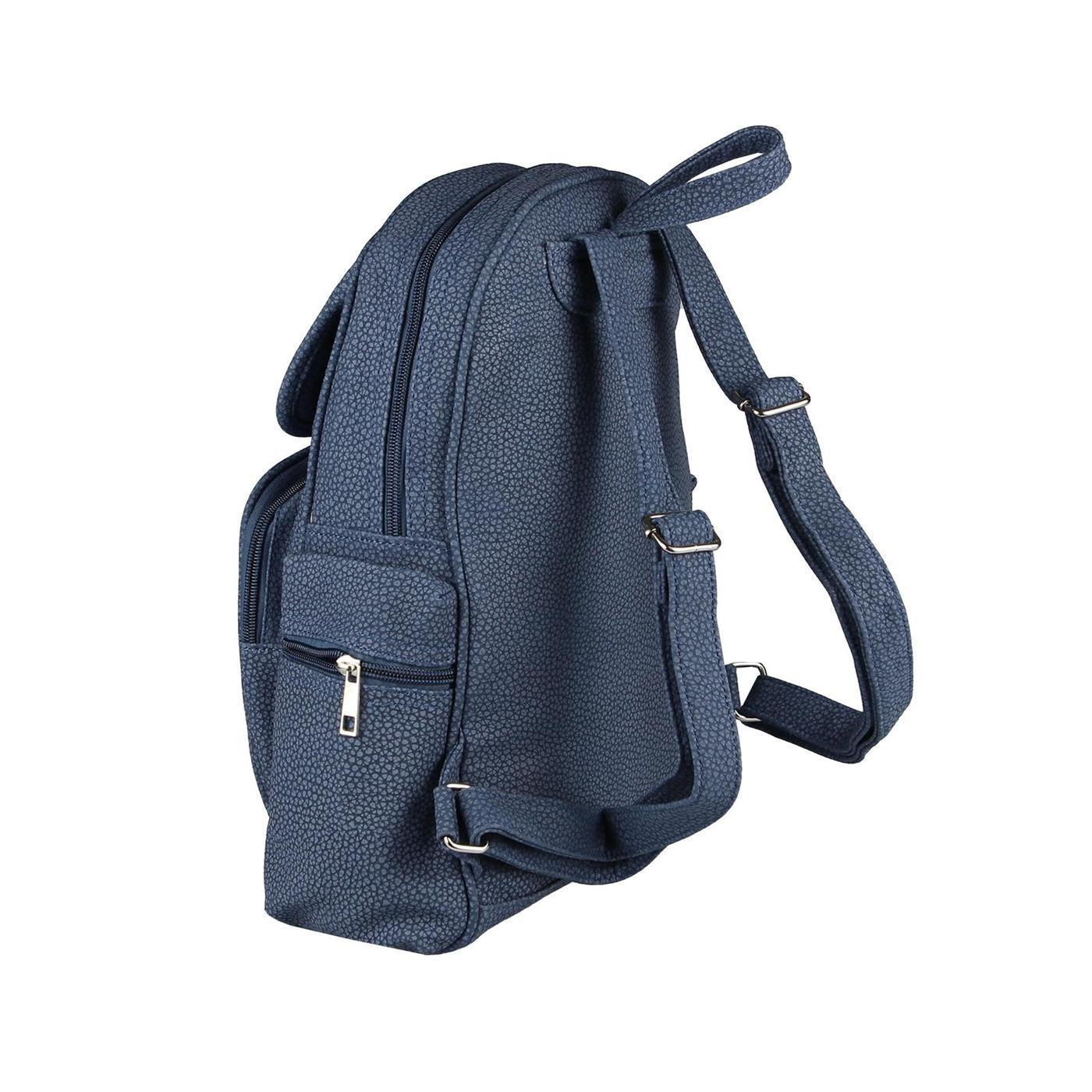 UNSEIX RUCKSACK STADT REISE Cityrucksack Schulter-tasche Backpack Leder Optik