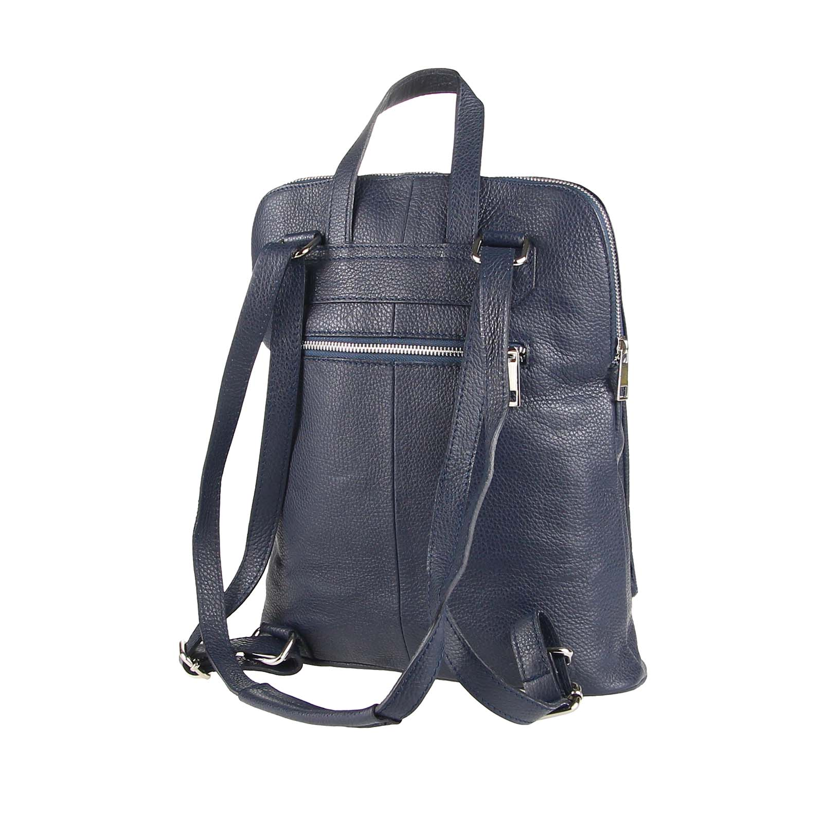 ITALy-DAMEN-LEDER-Reise-RUCKSACK-SchulterTasche-Shopper-Backpack-Ledertasche-BAG Indexbild 43