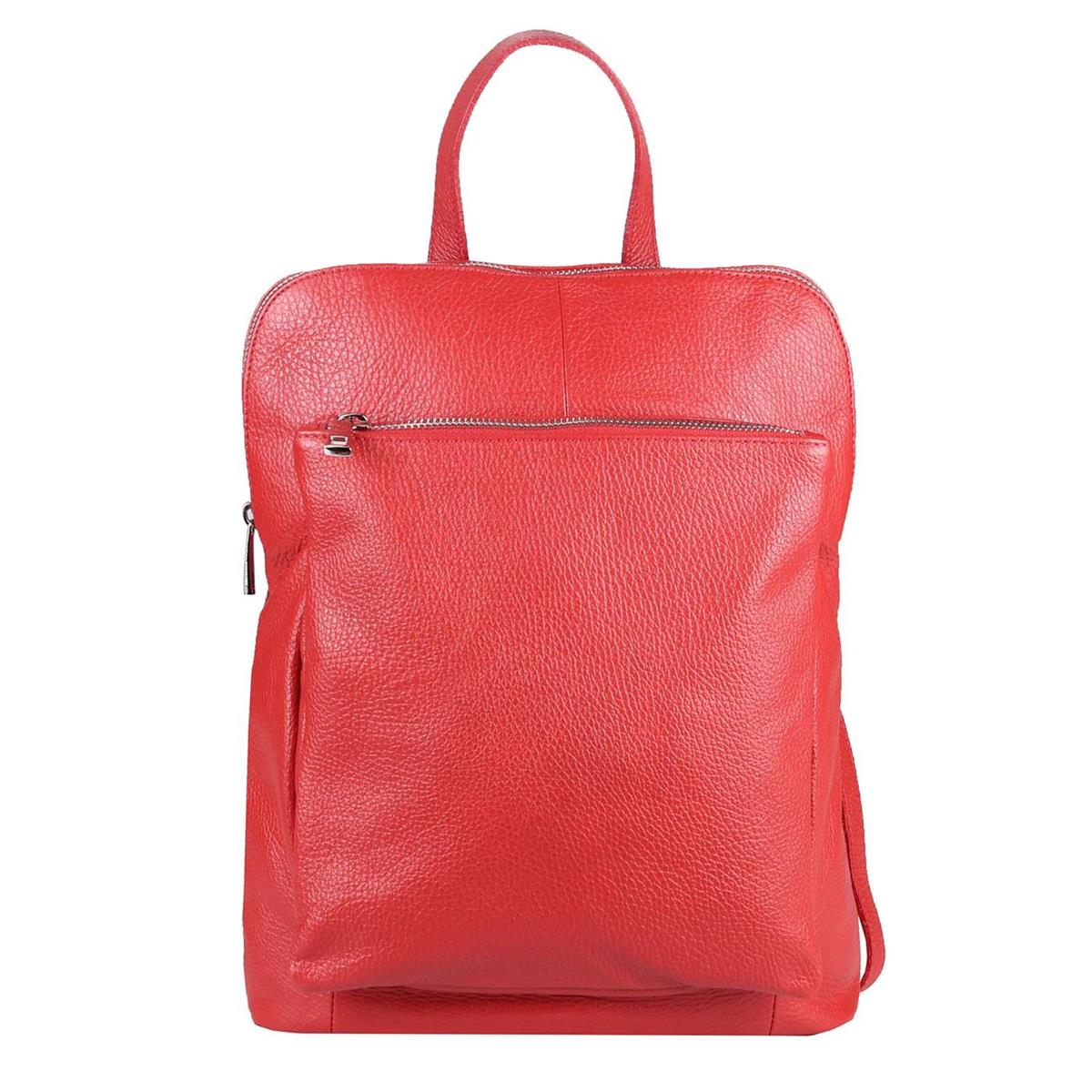 ITALy-DAMEN-LEDER-Reise-RUCKSACK-SchulterTasche-Shopper-Backpack-Ledertasche-BAG Indexbild 63