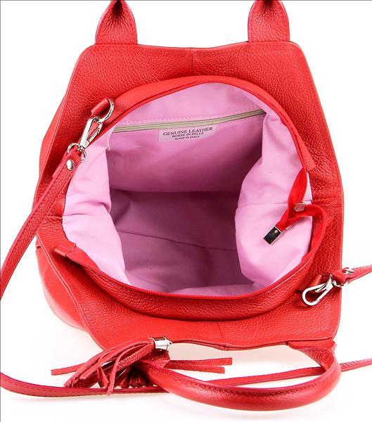 ITALY-LEDER-SHOPPER-Umhaengetasche-Schulter-Hand-Tasche-Damentasche-Ledertasche Indexbild 22