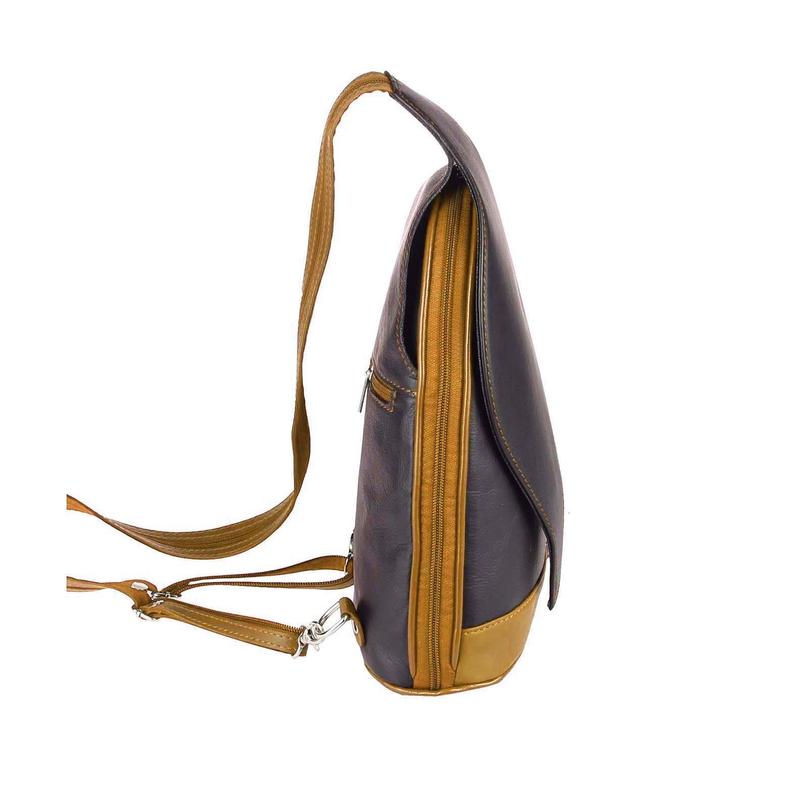 ITALY-DAMEN-LEDER-RUCKSACK-Schulter-Tasche-Reise-BACKPACK-Lederrucksack-it-BAG Indexbild 75