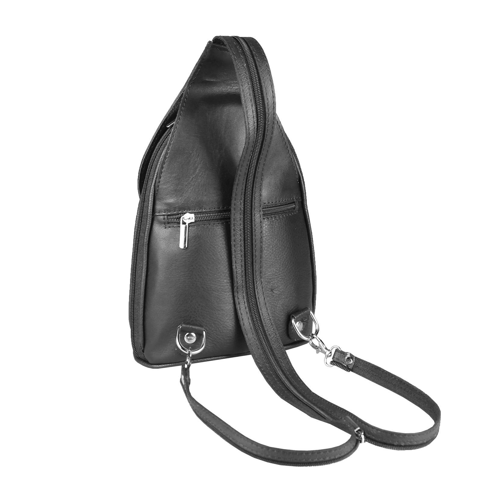 ITALY-DAMEN-LEDER-RUCKSACK-Schulter-Tasche-Reise-BACKPACK-Lederrucksack-it-BAG Indexbild 55