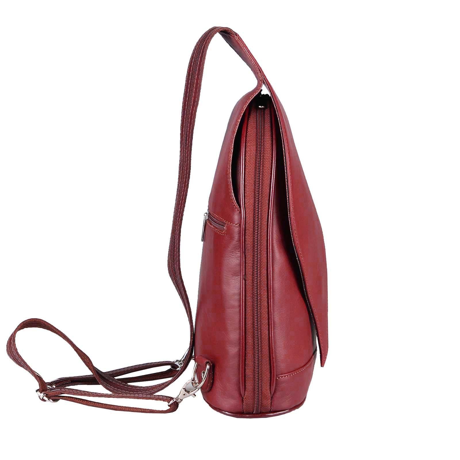 ITALY-DAMEN-LEDER-RUCKSACK-Schulter-Tasche-Reise-BACKPACK-Lederrucksack-it-BAG Indexbild 82