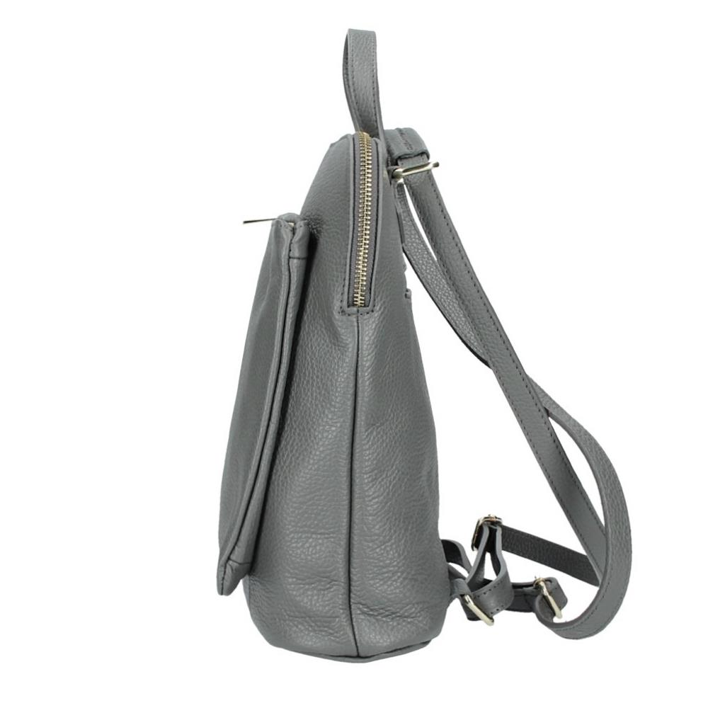 ITALy-DAMEN-LEDER-Reise-RUCKSACK-SchulterTasche-Shopper-Backpack-Ledertasche-BAG Indexbild 72