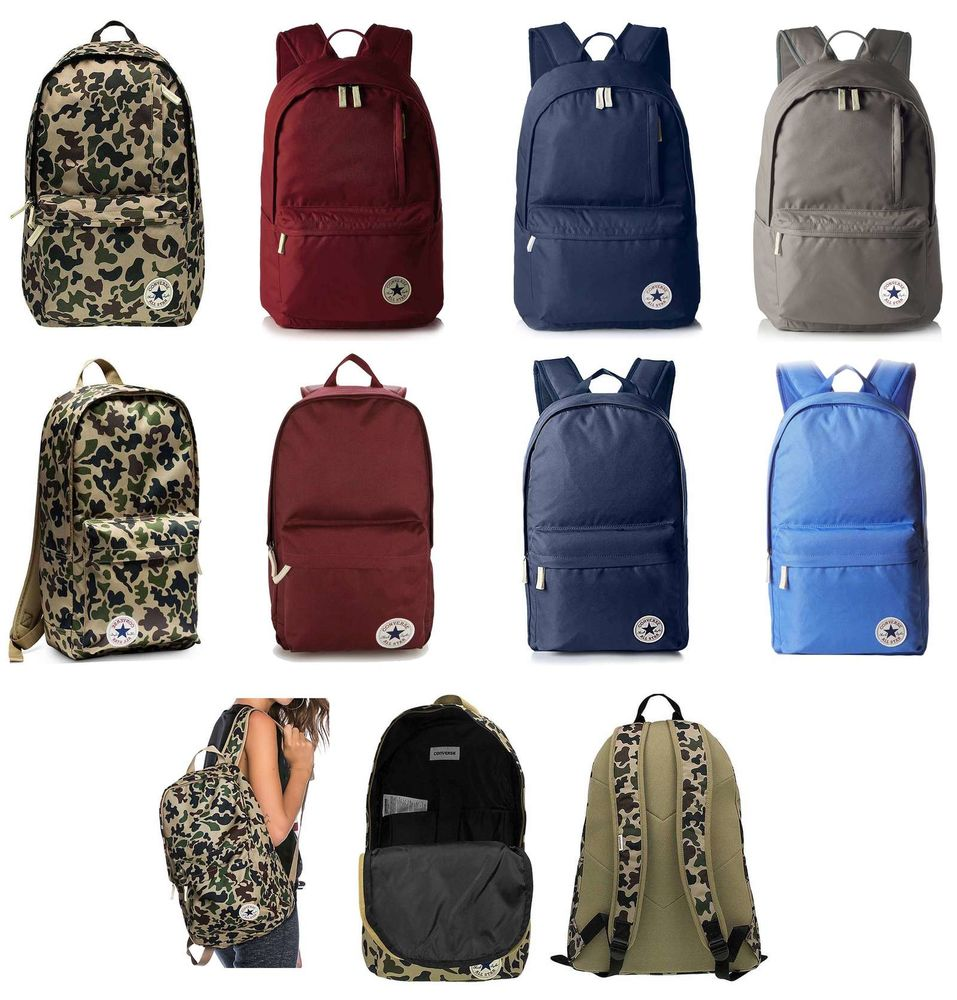 f80cd93a7ee2 Details about Converse Backpack all Star Daypack Travel Sport Bag School  College Holiday
