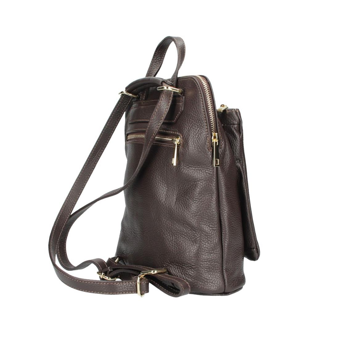 ITALy-DAMEN-LEDER-Reise-RUCKSACK-SchulterTasche-Shopper-Backpack-Ledertasche-BAG Indexbild 94