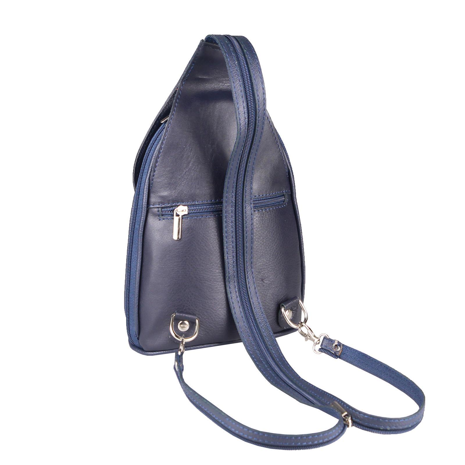 ITALY-DAMEN-LEDER-RUCKSACK-Schulter-Tasche-Reise-BACKPACK-Lederrucksack-it-BAG Indexbild 60