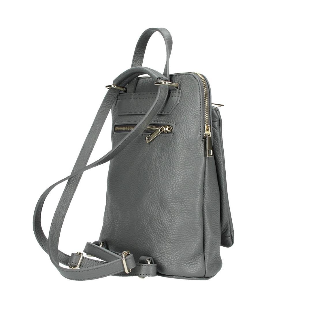 ITALy-DAMEN-LEDER-Reise-RUCKSACK-SchulterTasche-Shopper-Backpack-Ledertasche-BAG Indexbild 74