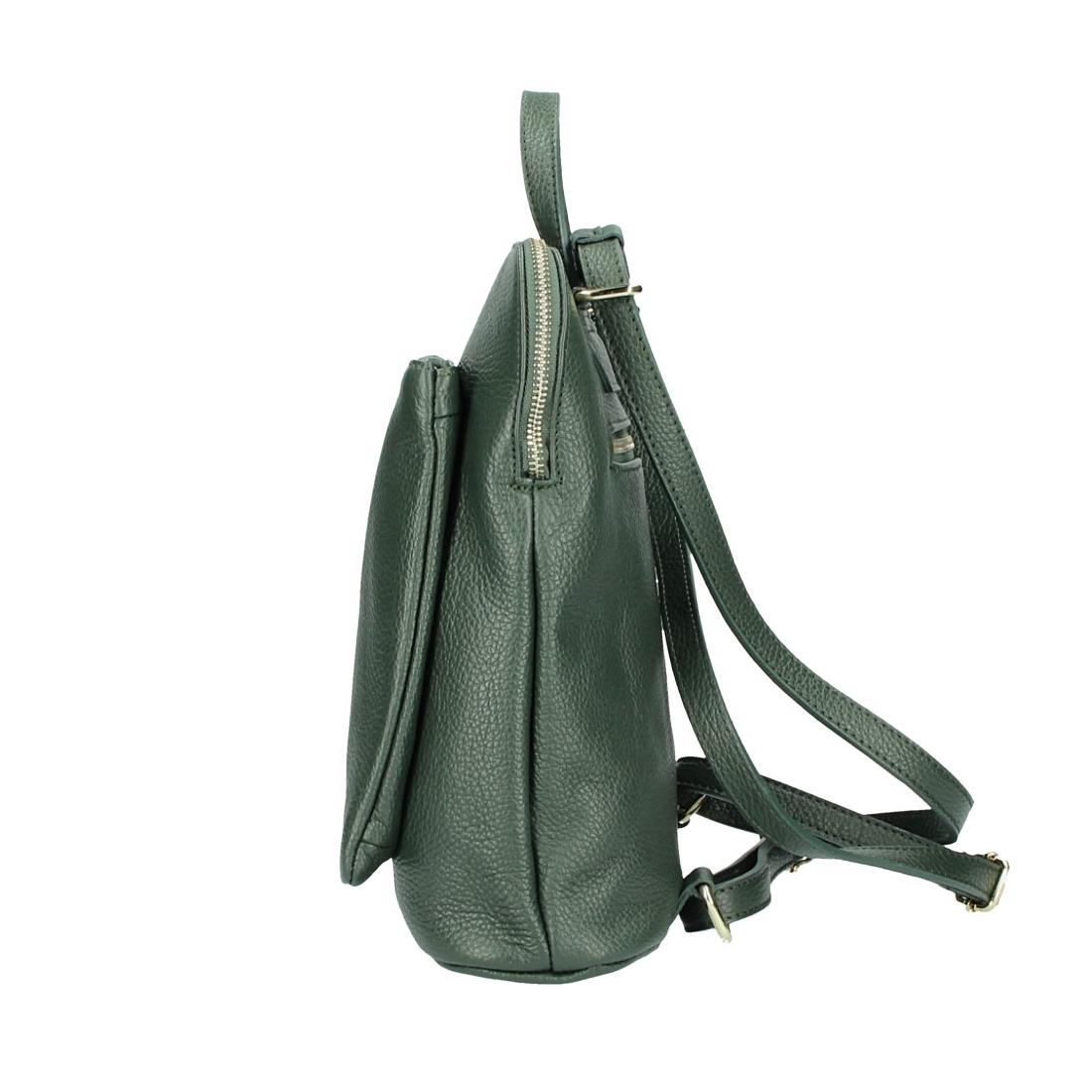 ITALy-DAMEN-LEDER-Reise-RUCKSACK-SchulterTasche-Shopper-Backpack-Ledertasche-BAG Indexbild 82