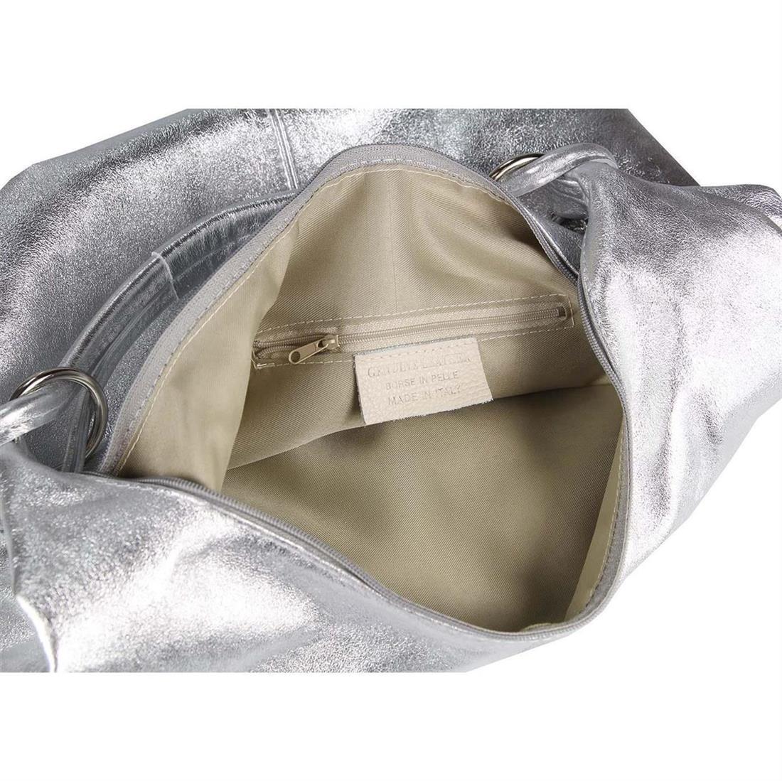 ITAL DAMEN XXL LEDER SHOPPER HANDTasche Schultertasche Umhängetasche Beutel BAG