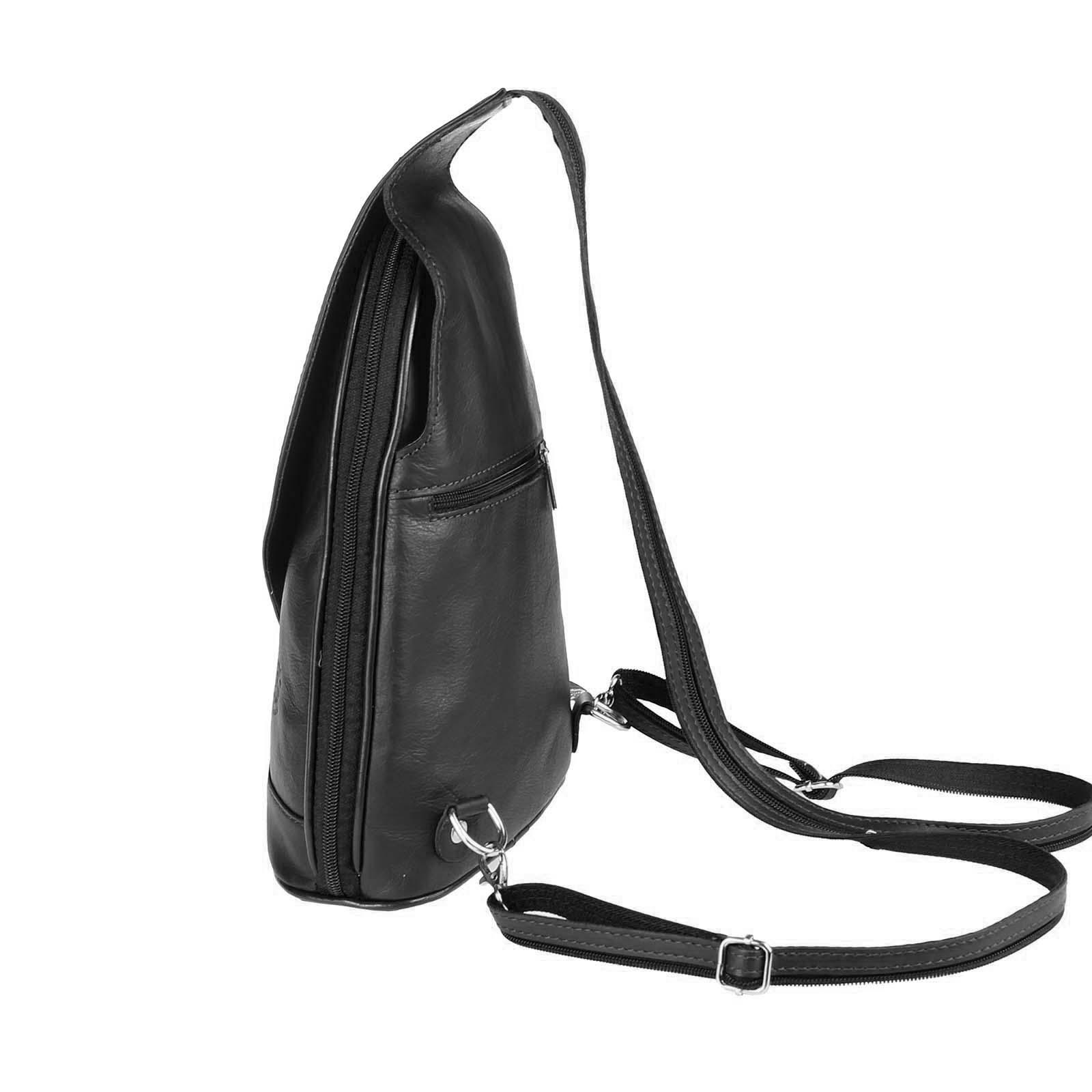 ITALY-DAMEN-LEDER-RUCKSACK-Schulter-Tasche-Reise-BACKPACK-Lederrucksack-it-BAG Indexbild 19