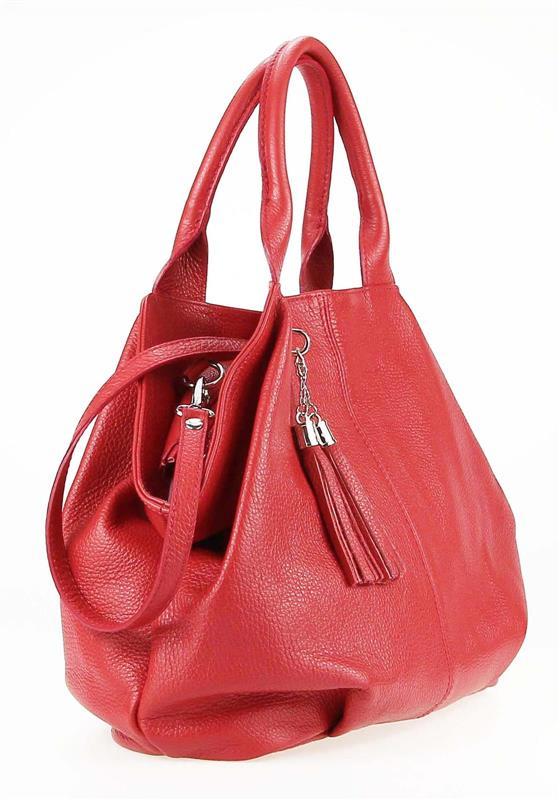 ITALY-LEDER-SHOPPER-Umhaengetasche-Schulter-Hand-Tasche-Damentasche-Ledertasche Indexbild 21