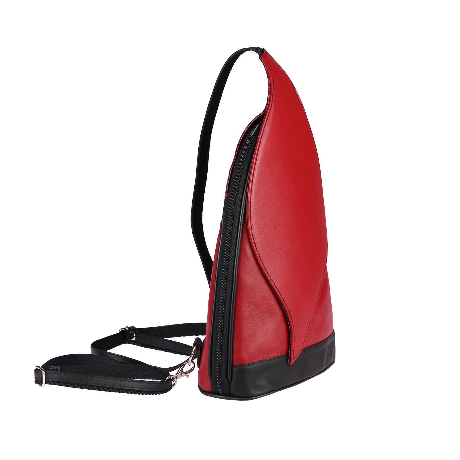 ITALY-DAMEN-LEDER-RUCKSACK-Schulter-Tasche-Reise-BACKPACK-Lederrucksack-it-BAG Indexbild 37