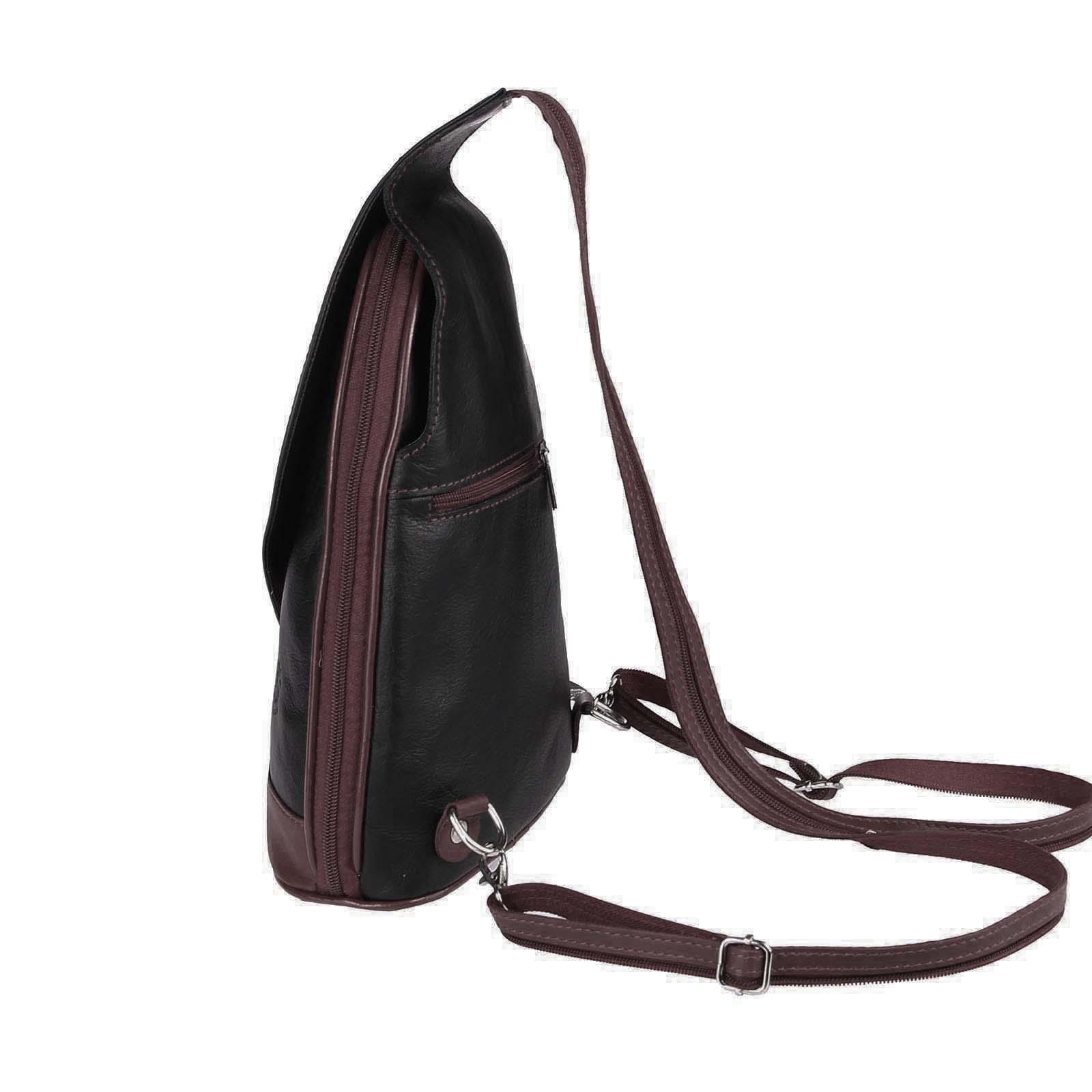 ITALY-DAMEN-LEDER-RUCKSACK-Schulter-Tasche-Reise-BACKPACK-Lederrucksack-it-BAG Indexbild 64
