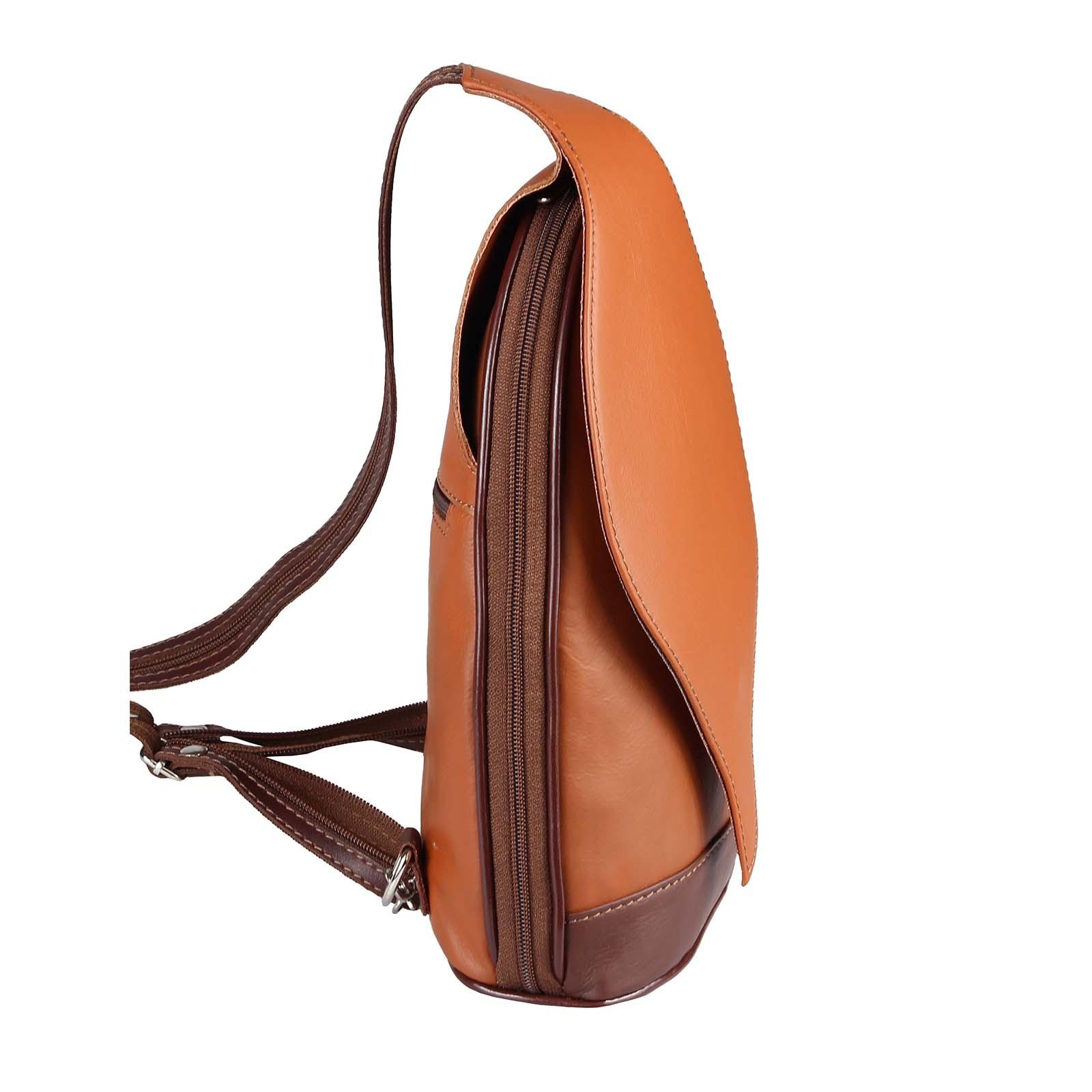 ITALY-DAMEN-LEDER-RUCKSACK-Schulter-Tasche-Reise-BACKPACK-Lederrucksack-it-BAG Indexbild 29