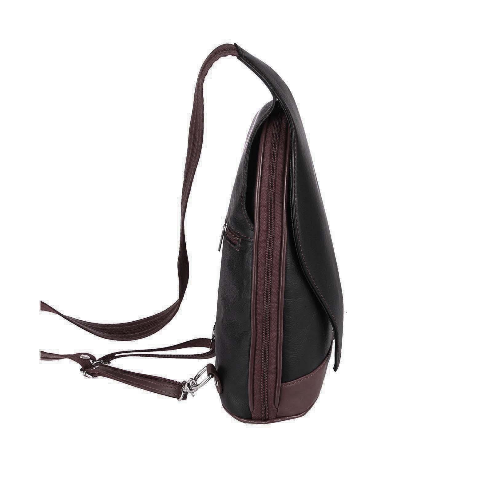 ITALY-DAMEN-LEDER-RUCKSACK-Schulter-Tasche-Reise-BACKPACK-Lederrucksack-it-BAG Indexbild 65