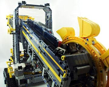 Lego Technic Schaufelradbagger 42055 Vollständig Top Mit Ovp