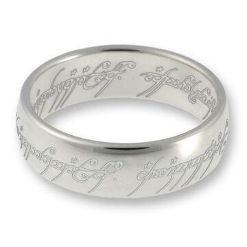 Herr der Ringe//Hobbit Schmuck der EINE Ring aus 925 Silber//poliert 10004046