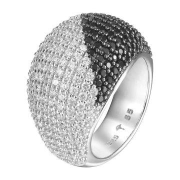 Stein SONDERPREIS Mondstein Ring 925 Sterling Silber mattierte Oberfläche fac