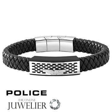 Original De Pj26488blb 01 Pulsera Caballero Título Joyas Police Detalles Ver Cueronegro Pozas yfbY76g