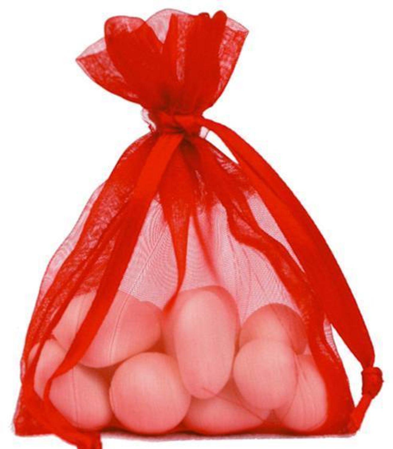 Faltbox Doppelherz Geschenkbox 12 Stück für Hochzeitsmandeln und Gastgeschenke