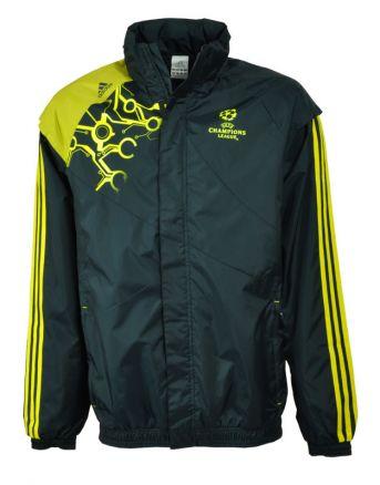 Details zu Adidas Predator UEFA UCL Climaproof Regenjacke Windjacke Windbreaker Gr. L