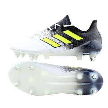 Sport Adidas ACE 17.1 SG Fußballschuhe Leder Stollen schwarz