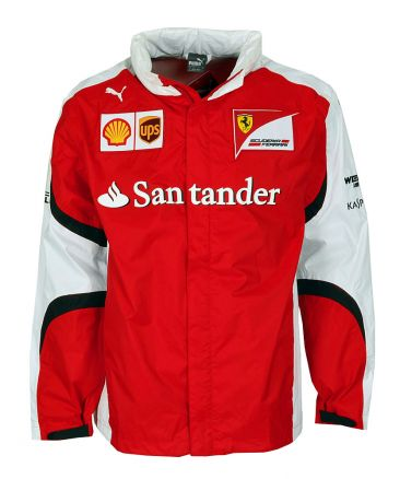 puma scuderia ferrari formel 1 team jacket allwetterjacke. Black Bedroom Furniture Sets. Home Design Ideas