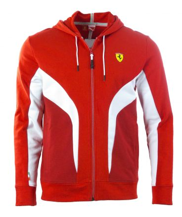 puma sf scuderia ferrari formel 1 hoody kapuzenjacke. Black Bedroom Furniture Sets. Home Design Ideas