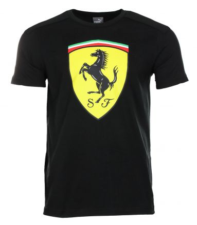 puma sf scuderia ferrari formel 1 big shield t shirt. Black Bedroom Furniture Sets. Home Design Ideas