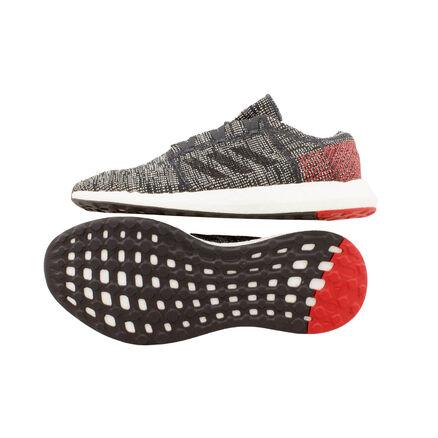 adidas Herren Pureboost Go, grauschwarz: : Schuhe