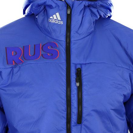 ADIDAS PRIMALOFT ATHLETEN Olympia Russia Winter Jacke Herren