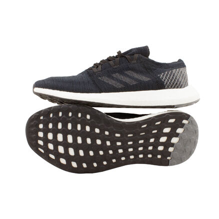 Details zu Adidas Pureboost Go schwarz UK 10,5 45 13 AH2319 Laufschuhe Running Knit Schuh