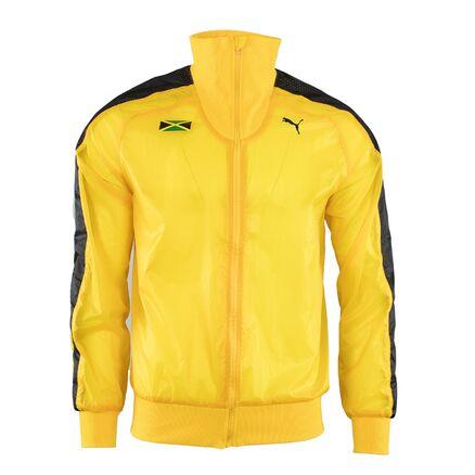 Details zu Puma Riddim Jamaica Podium Jacke Olympia Athleten Windbreaker M L XL Usain Bolt