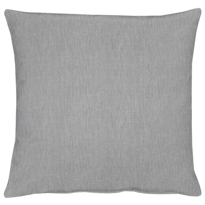 Details zu Dekokissen Zierkissen Kissenbezug Kissen Apelt Torino grau (81) 40 cm x 40 cm
