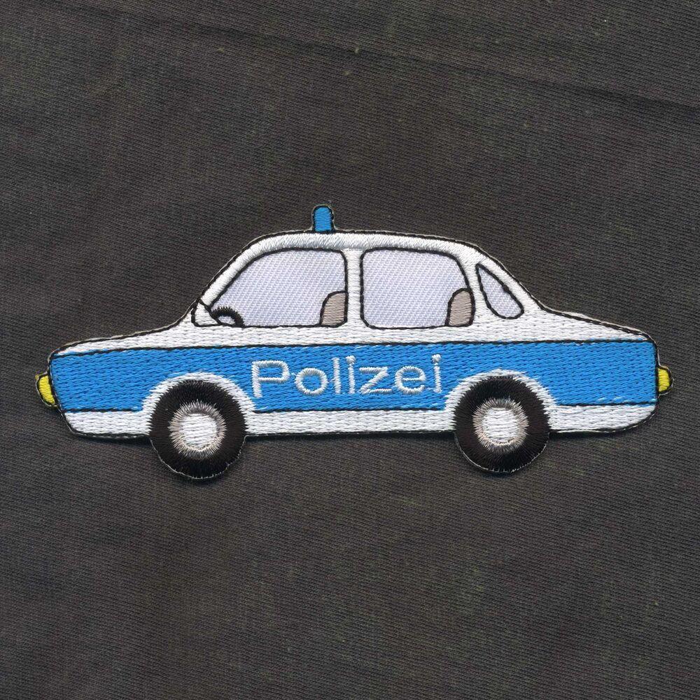 Polizeiauto Aufnäher Patch