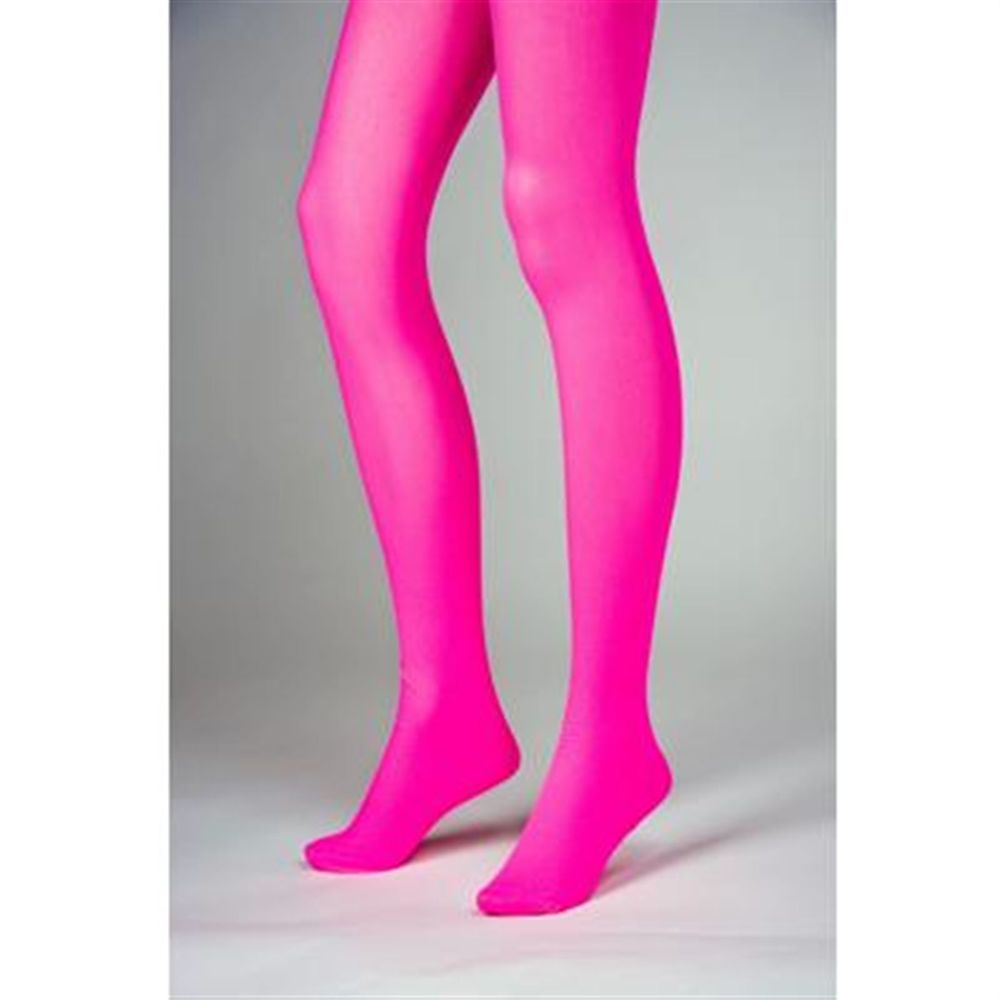 Strumpfhose Pantyhose Damenkostüm Karneval Halloween dehnbar rosa pink WZ012P