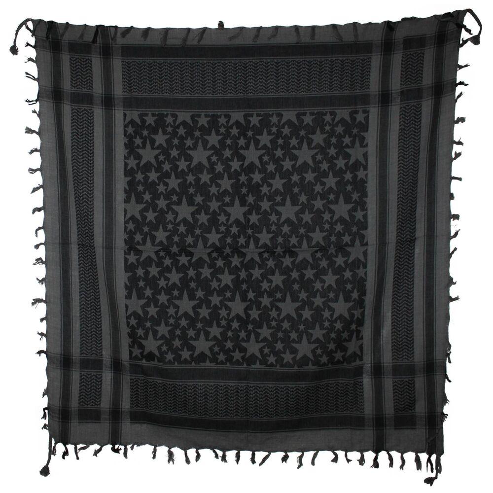 7 Farben Kreuz Sterne Muster 95x95cm Baumwolle Halstuch Tuch im Palituch STIL