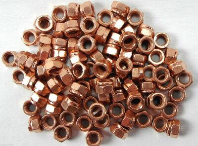 12 Stück VW Kupfermutter Krümmermutter Auspuffmutter  M8 SW12